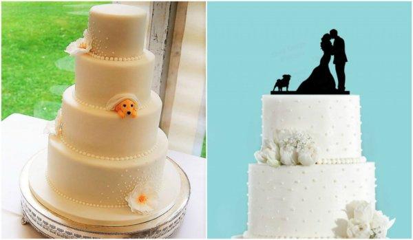 Esküvői torták kutyásoknak