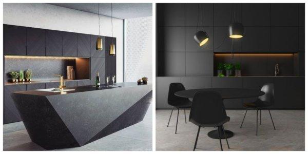 Fekete konyha – ó, igen vagy jaj, ne?
