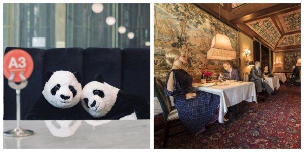 Gumibabák és pandamacik fognak velünk szemben ülni ezután az éttermekben?