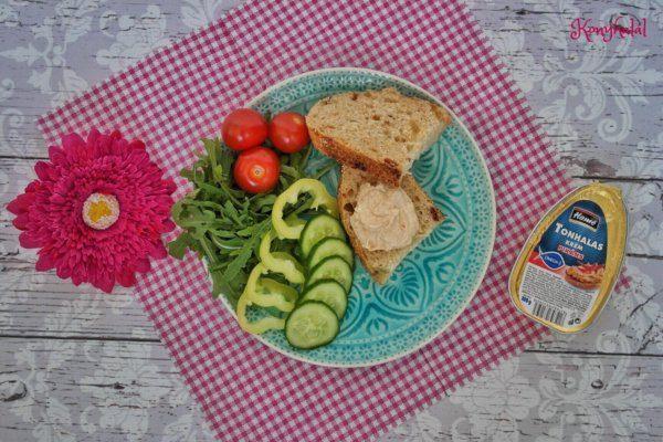 Pikáns tonhalas-ricottás szendvicskrém