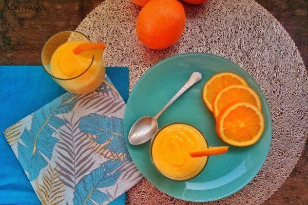 Isteni orange curd, azaz angol narancskrém