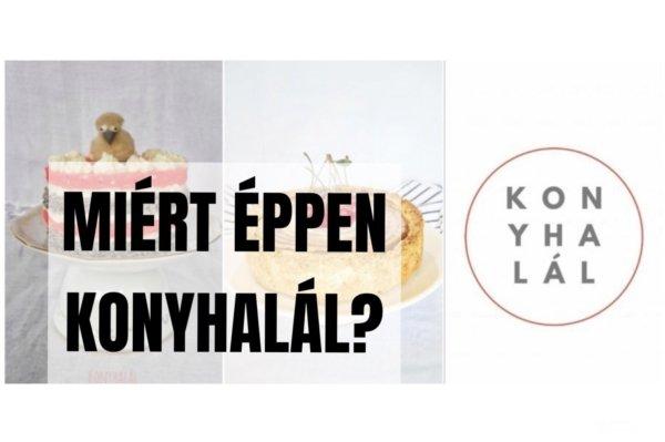 Ezért lett a blog neve Konyhalál