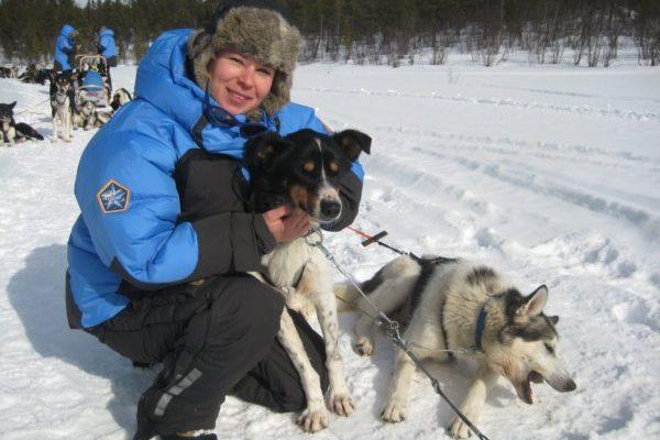 Élet és étel szánhúzó kutyákkal a sarkvidéken