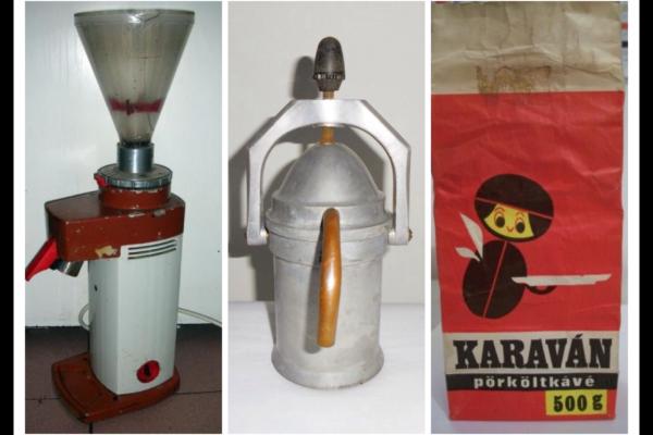 Így kávéztunk a 80-as években