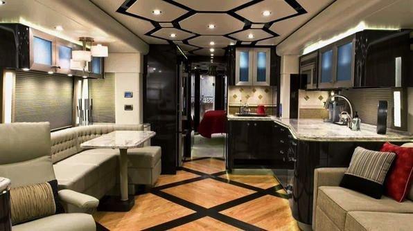 Luxuslakókocsi-konyhák – ugye, hogy rögtön utaznál?