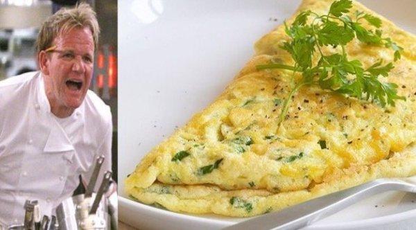Gordon Ramsay tökéletes omlettjének pontos receptje