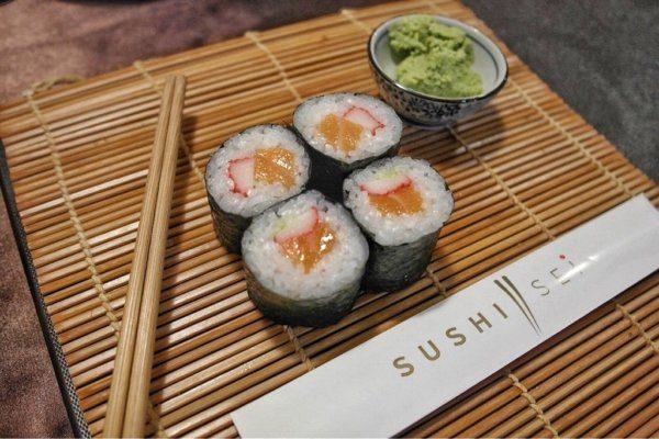 Első saját készítésű sushim