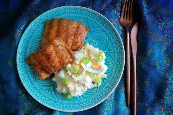 Paprikás lisztben sült hal