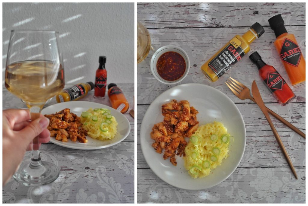 Mezes-chilis csirkemell